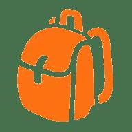 The Orange Backpack