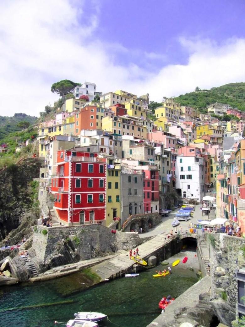 Cinque Terre Italië Riomaggiore