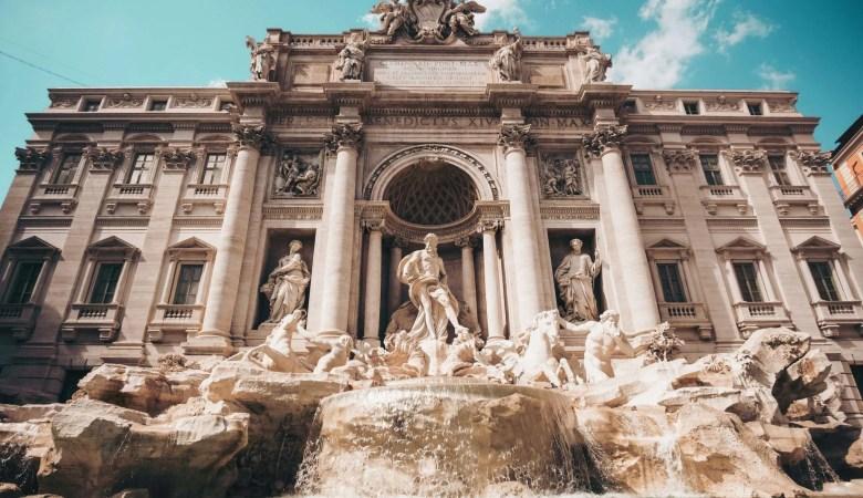 Trevi Fontein Rome Italië