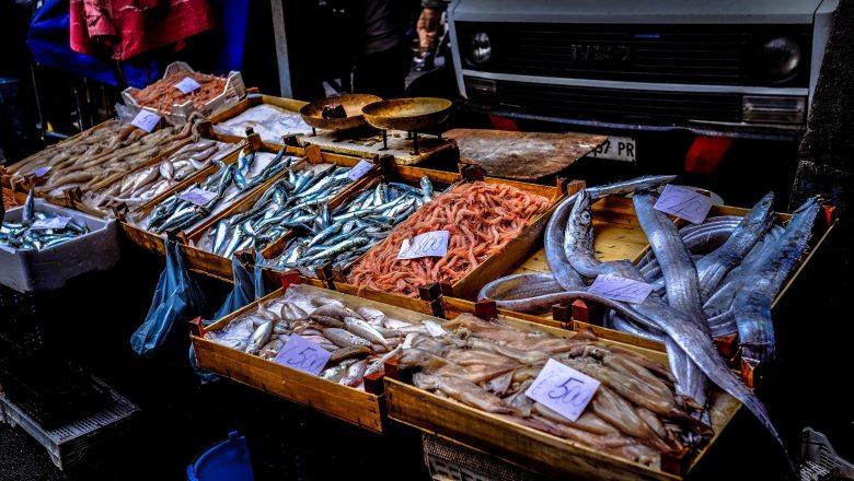 Stedentrip Catania Fish market