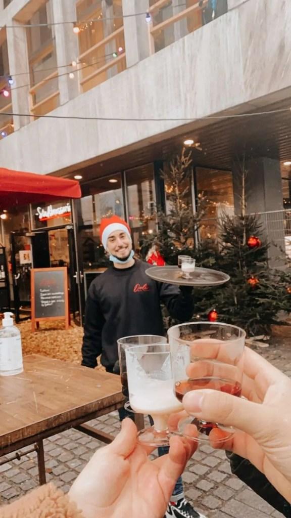 Stadsbrasserie Rotterdam kerst glühwein