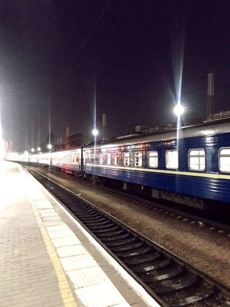 Nachttrein Odessa, Oekraïne