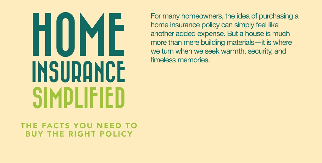 home insurance simplified