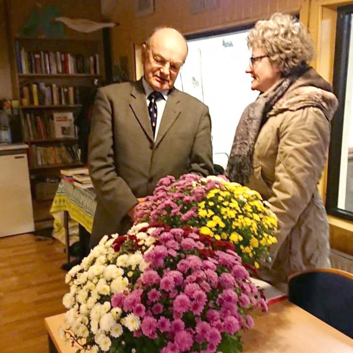 Die Prüfer: Herbert Schulz und Dr. Jitka Haas Foto: Kirsten Teich