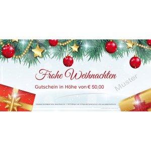 Geschenkgutschein Weihnachten 5