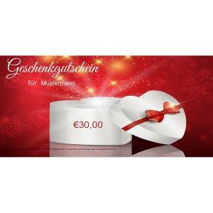 Geschenkgutschein Weihnachten 3