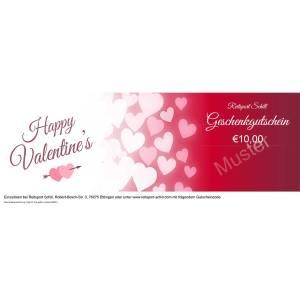 Geschenkgutschein Valentinstag 1