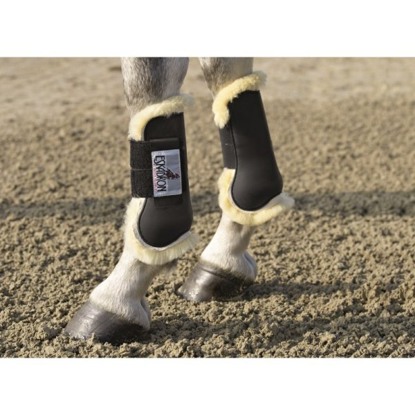 Gamaschen-PROTECTION-BOOTS-Lammfell-vorn