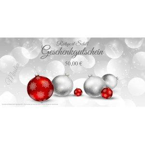 Geschenkgutschein Weihnachten 7