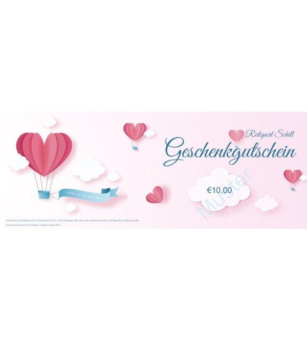 Geschenkgutschein Valentinstag, Geschenkgutschein Liebe, Geschenkgutschein Reiten, Geschenkgutschein Reitsport