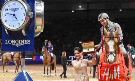 Emanuelle Gaudiano gewinnt Weltcupspringen in London