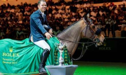 Kent Farrington triumphiert im ROLEX GRAND PRIX von Genf
