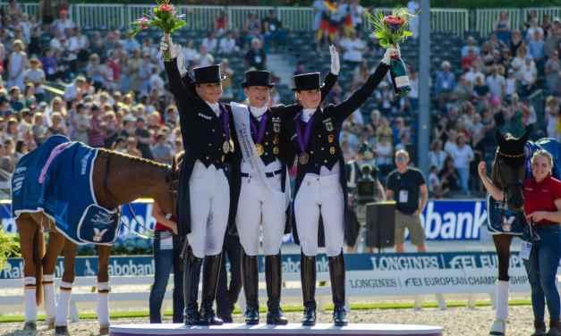 Die dritte Goldmedaille für Isabell Werth bei den European Championships in Rotterdam
