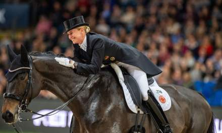 Stuttgart German Masters 2019:  Jessica von Bredow-Werndl siegt im FEI Dressage World Cup™ 2019/2020 Grand Prix Freestyle