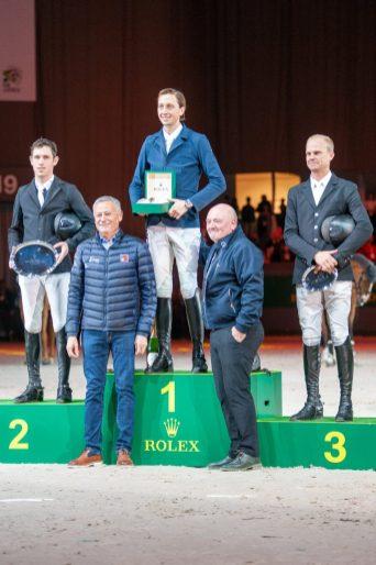 Siegerehrung im Rolex Grand Prix