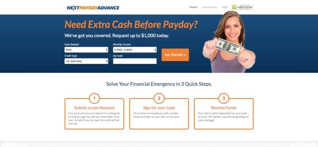 nextpaydayadvance.com - Next Payday Advance