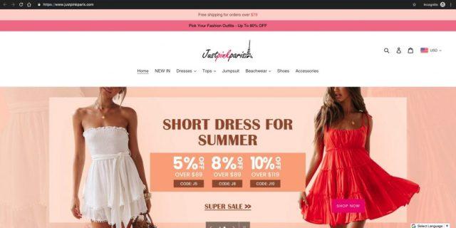 JustPinkParis_Homepage