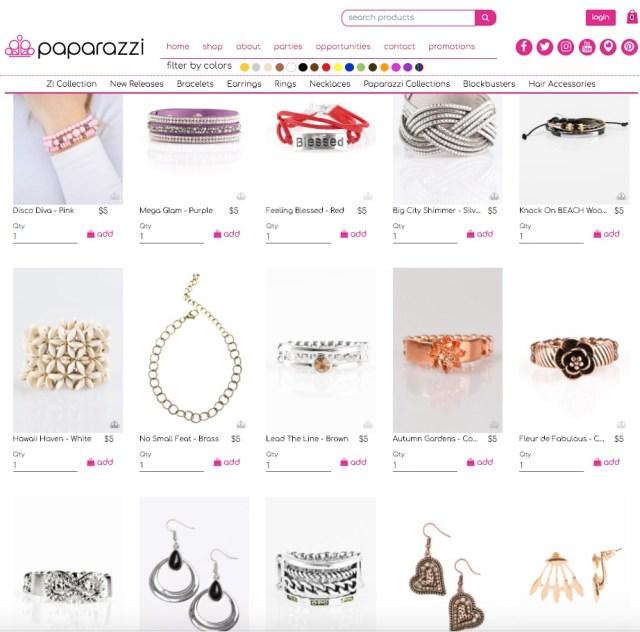 PaparazziAccessories.com Catalog