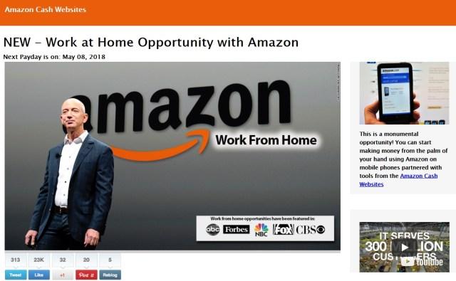Orbitnam.Today - Amazon Cash Websites