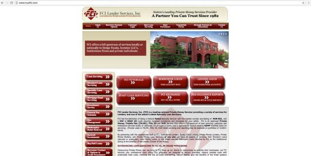 trustfci.com - FCI Lending Services