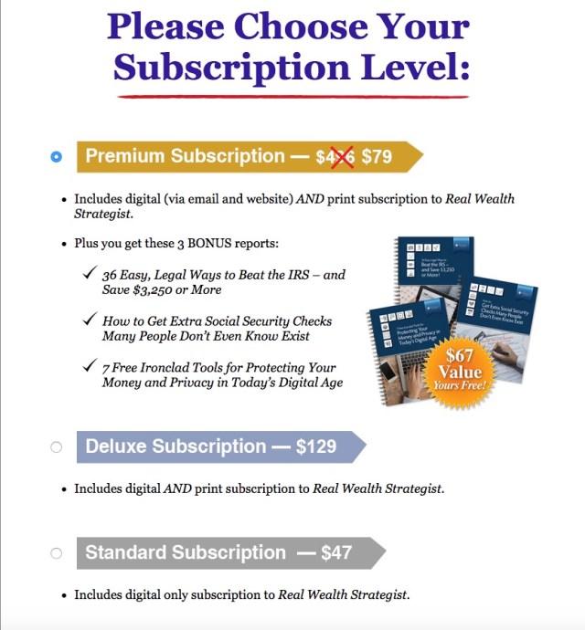 FreedomChecks.com - Subscription