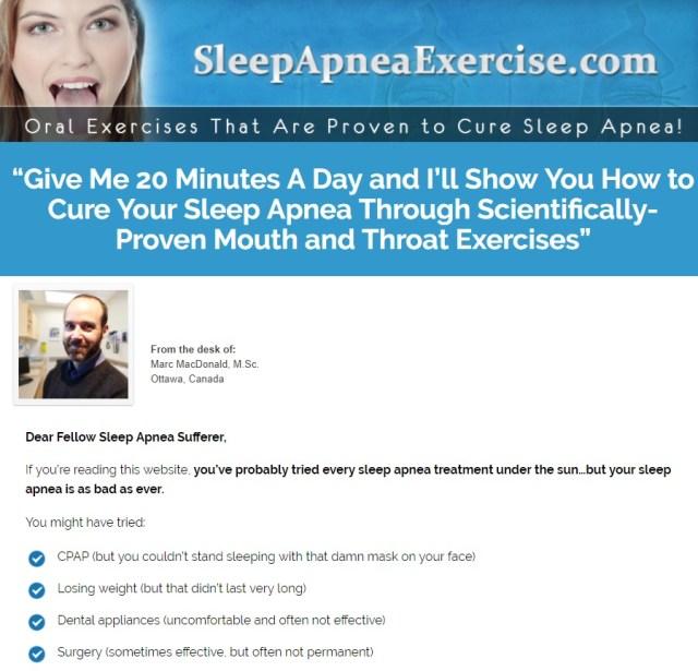 sleepapneaexercise.com - Sleep Apnea Exercise