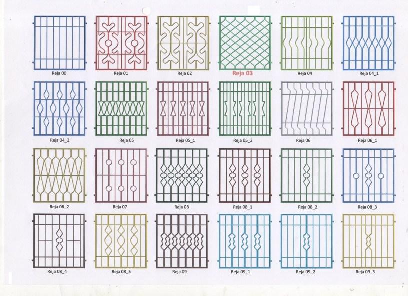 Rejas para ventanas Palma