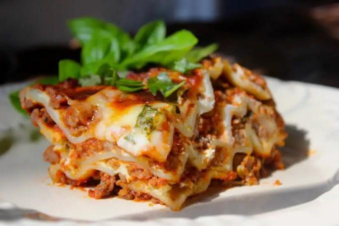 jenis pasta Lasagna