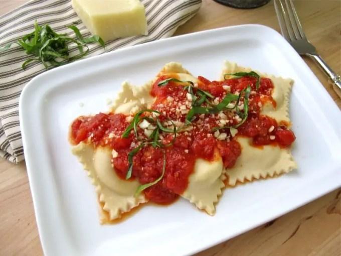 jenis pasta Ravioli