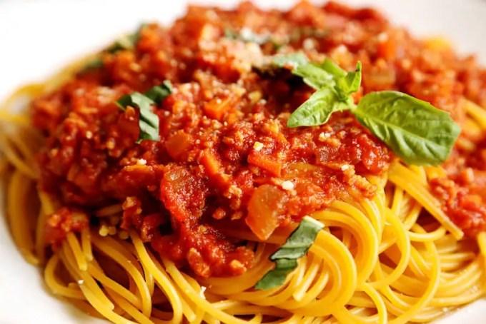 jenis pasta Spaghetti