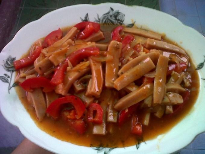 resep seblak sosis