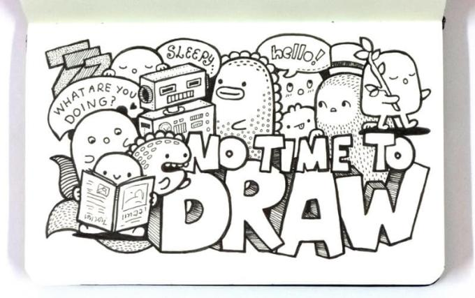 doodle indonesia