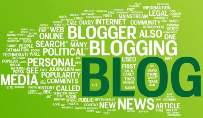 pengertian blog, blogger, blogging