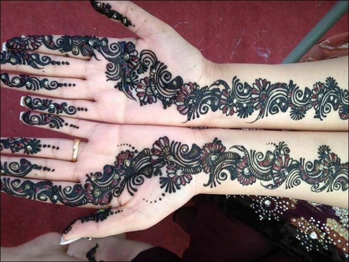 Henna Simple Satu Jari Makedes Com
