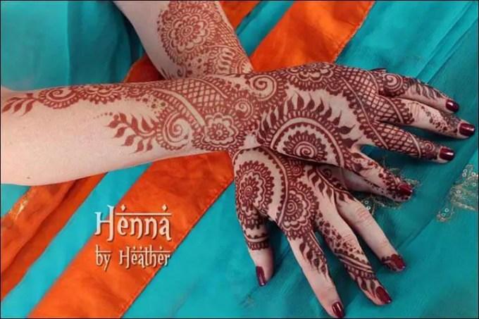 Henna Tangan Motif Professionally Glamorous