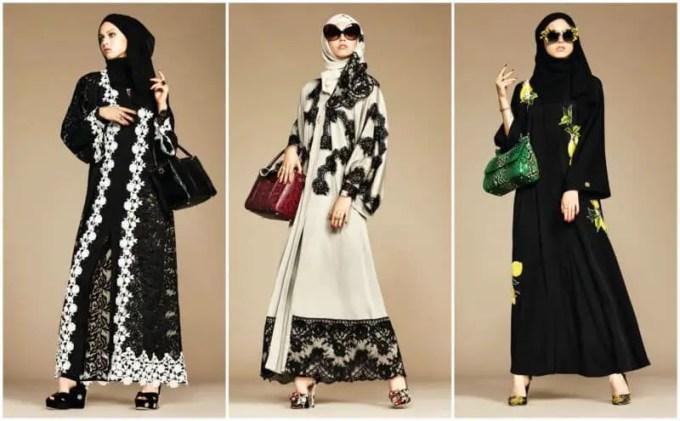 dolce gabbana abaya