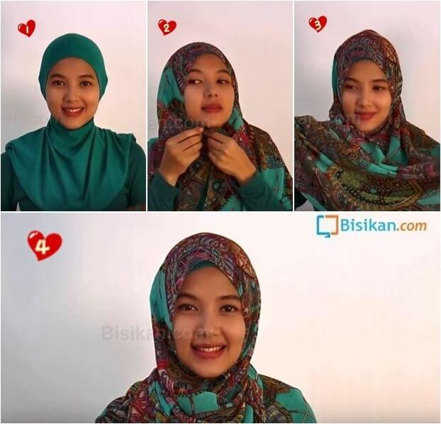 hijab pashmina casual untuk pesta