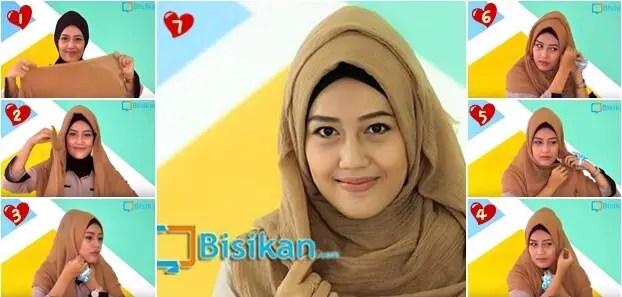 hijab pashmina untuk acara santai