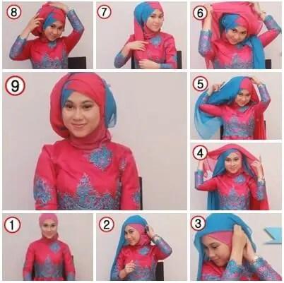 model hijab kebaya untuk acara pesta