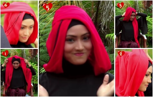 model hijab paris untuk pesta