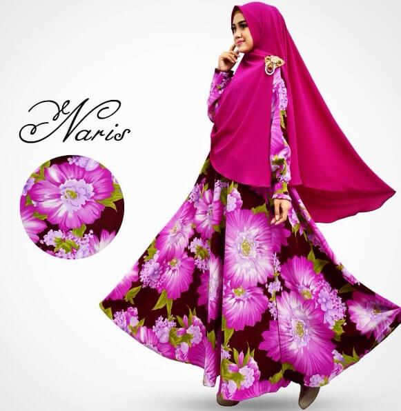 baju gamis syar'i muslimah