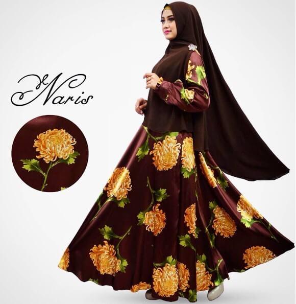 model baju gamis muslimah terbaru