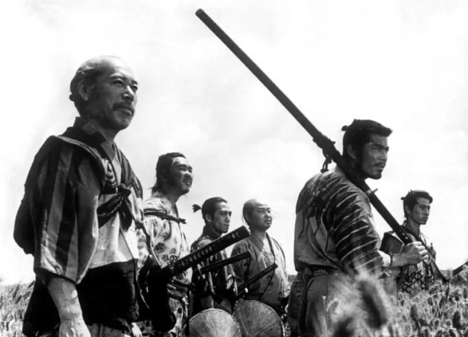 Film Action Terbaik Seven Samurai