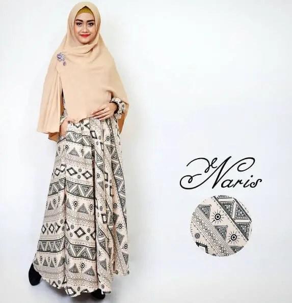 baju gamis motif cantik