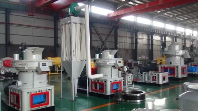 mesin wood pellet kapasitas 1500kg