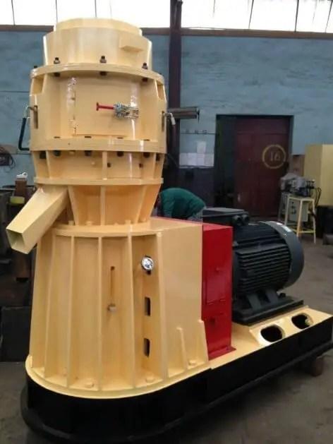 mesin wood pellet kapasitas 600-800kg