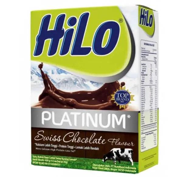 Susu Peninggi Badan HiLo Platinum