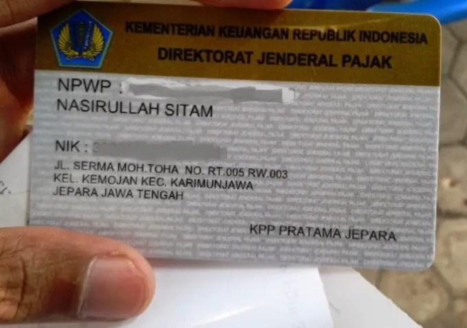 apa itu npwp