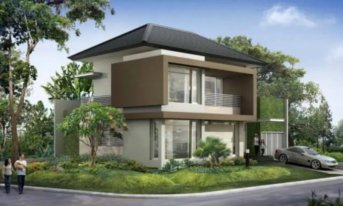desain rumah minimalis perkotaan