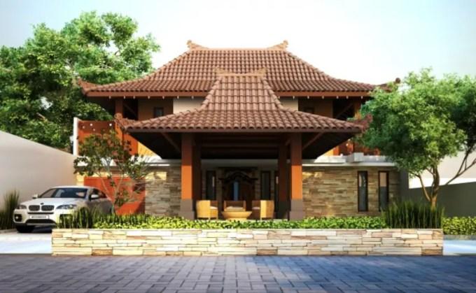 rumah minimalis tradisional